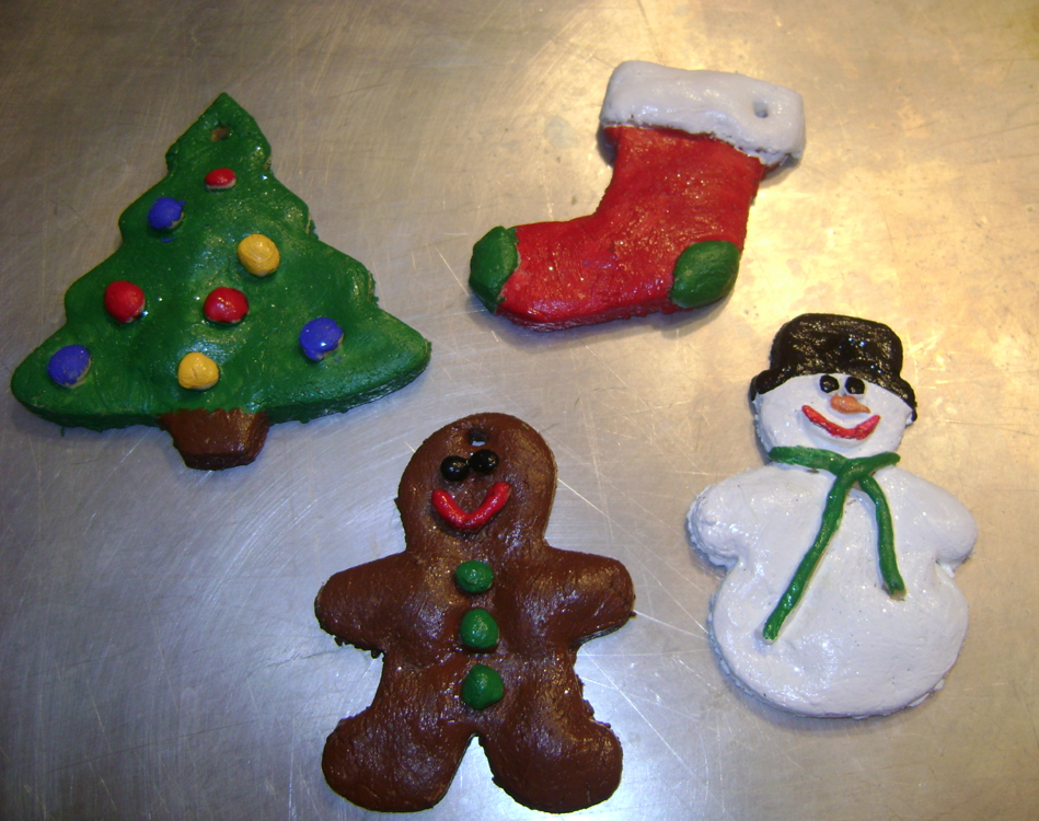 homemade dough ornaments