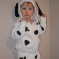 Homemade Costume Idea: Dalmatian