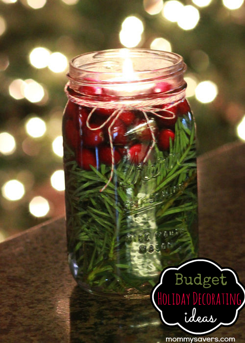 budget holiday decorating ideas