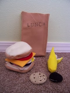 felt sack lunch