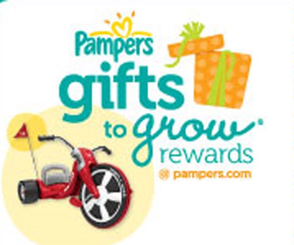 pampers, gifts to grow