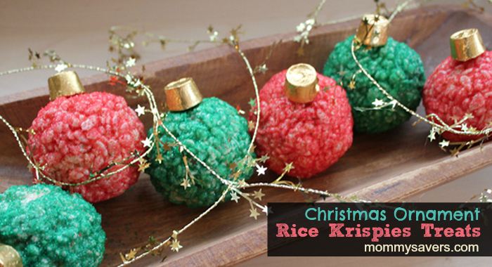 christmas rice krispies treats