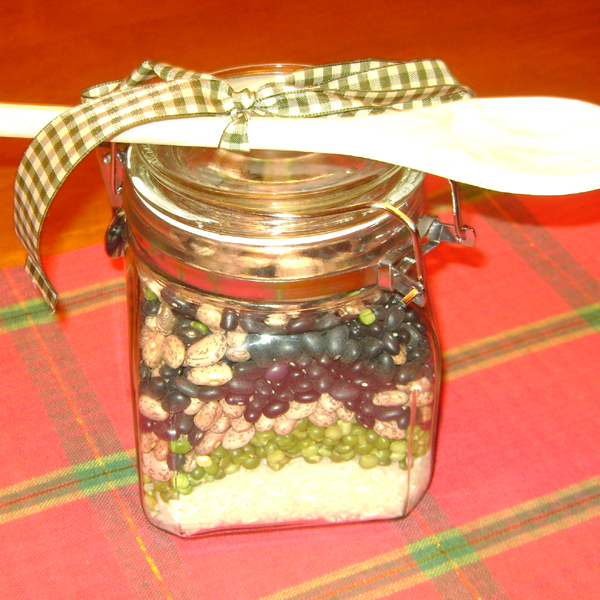 homemade jar gift frugal christmas
