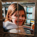 homemade photo-cubes