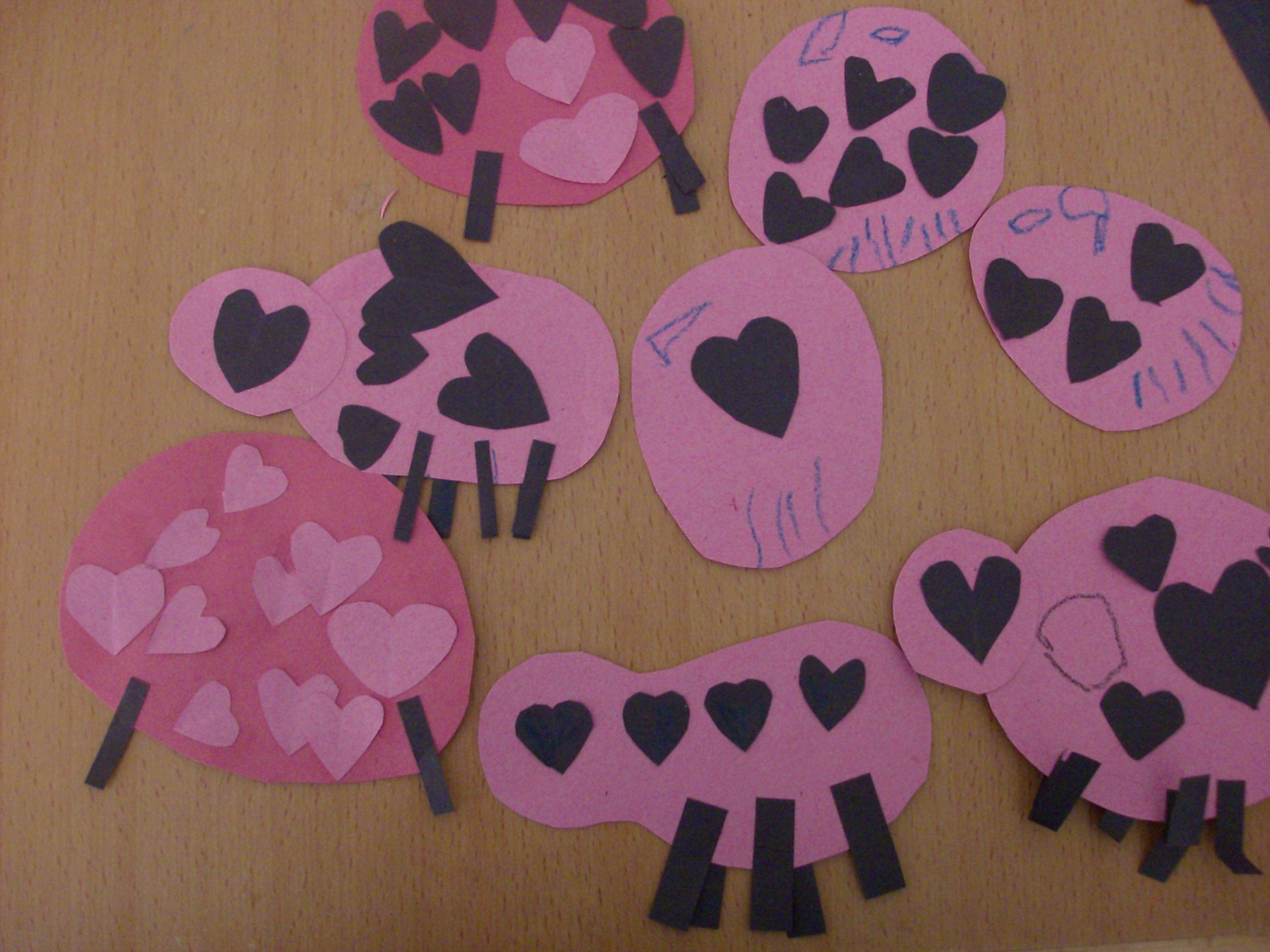 Kids craft love bug valentines day cards mommysavers my preschooler jeuxipadfo Images