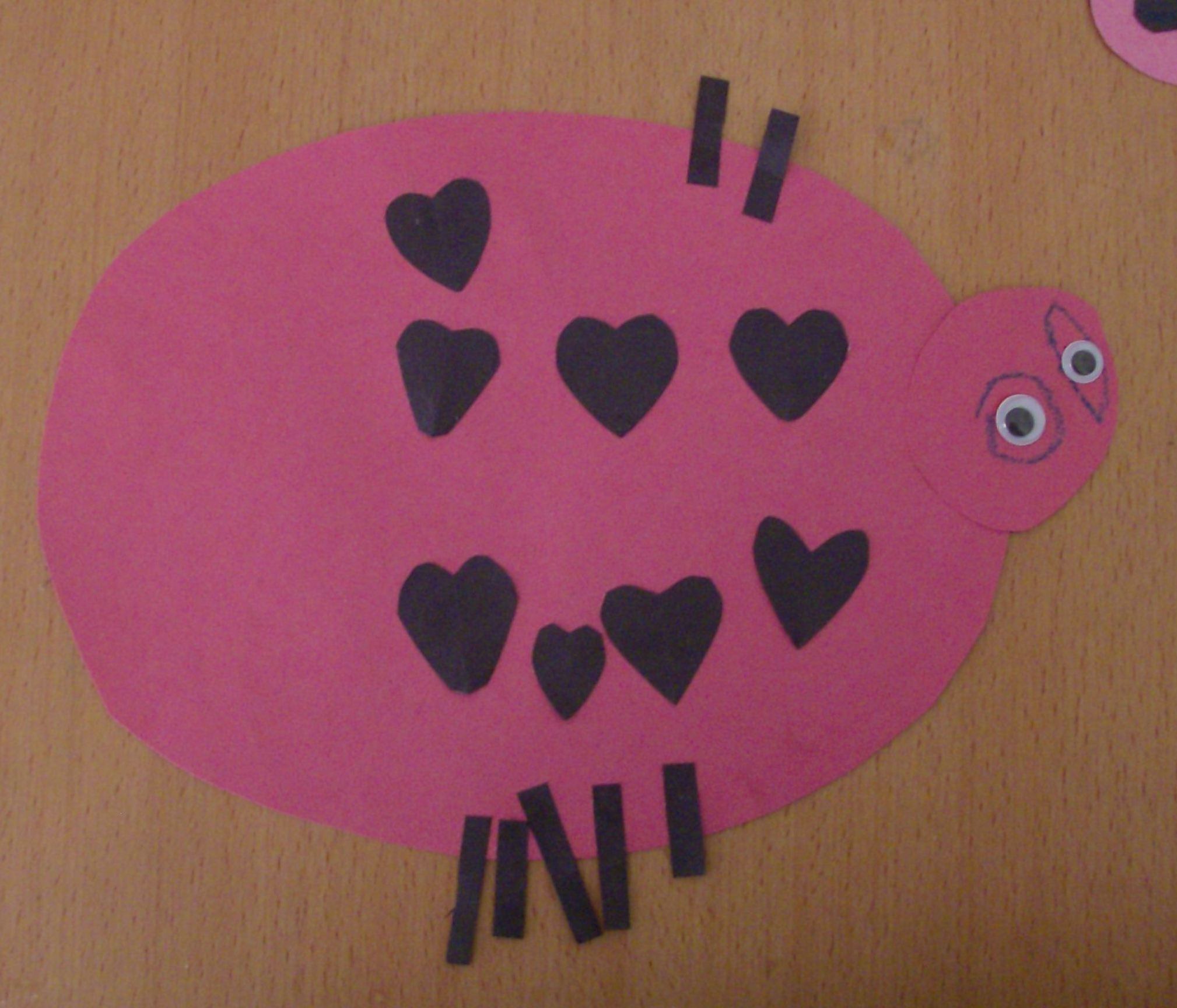 Kids Craft Love Bug Valentines Day Cards – Valentine Cards Ideas for Preschoolers