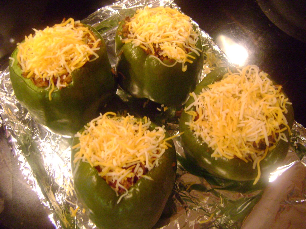 pepper recipe stuffed zucchini recipe with brown rice ground beef red ...