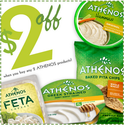 Athenos coupon