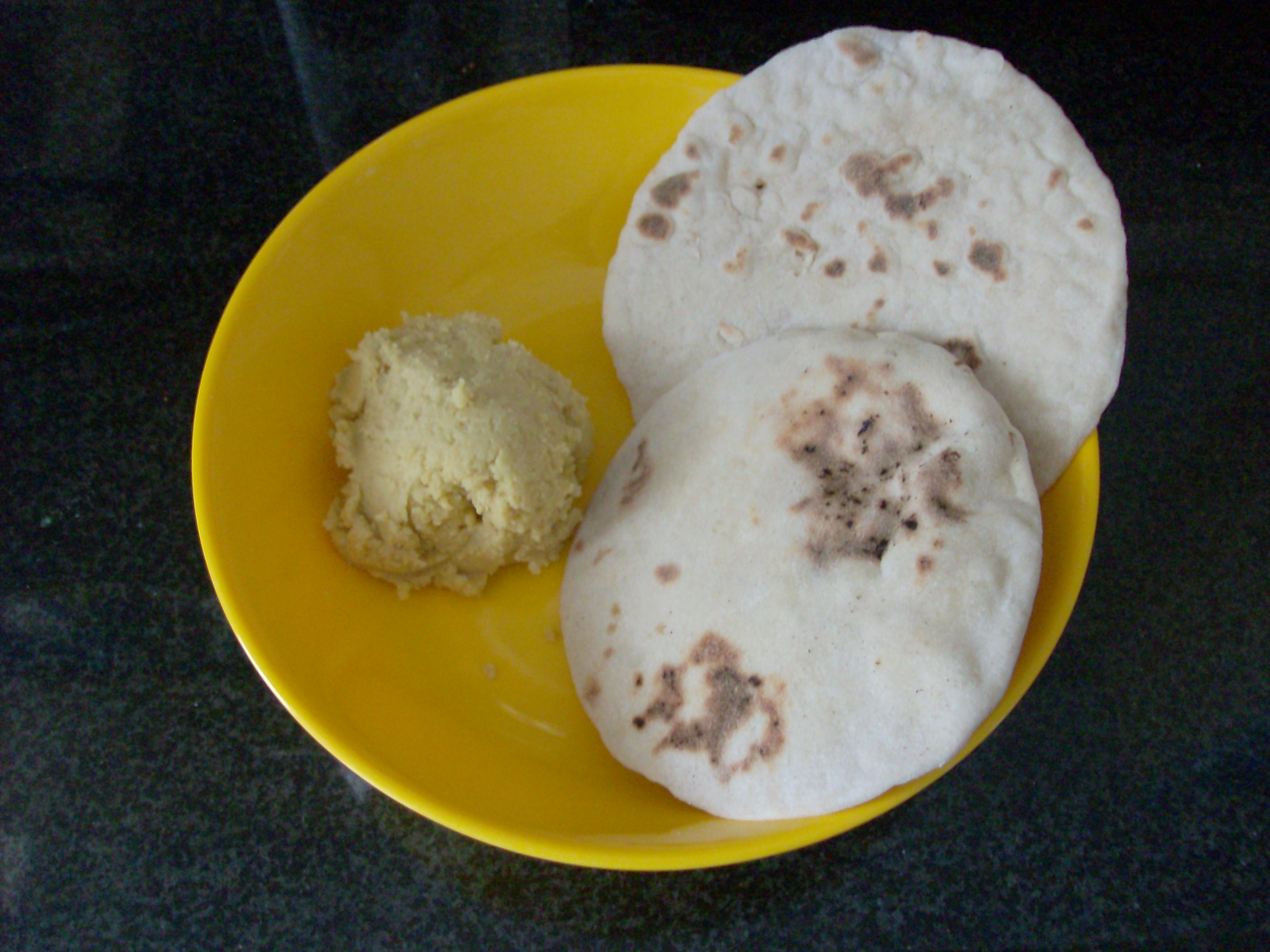 Homemade Hummus and Pita Bread Frugal Foreigner