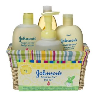 johnsons head to toe baby gift set