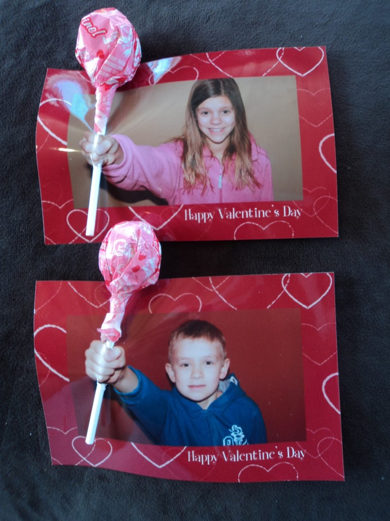 lollipop valentines day card