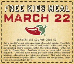 chilis kids eat free