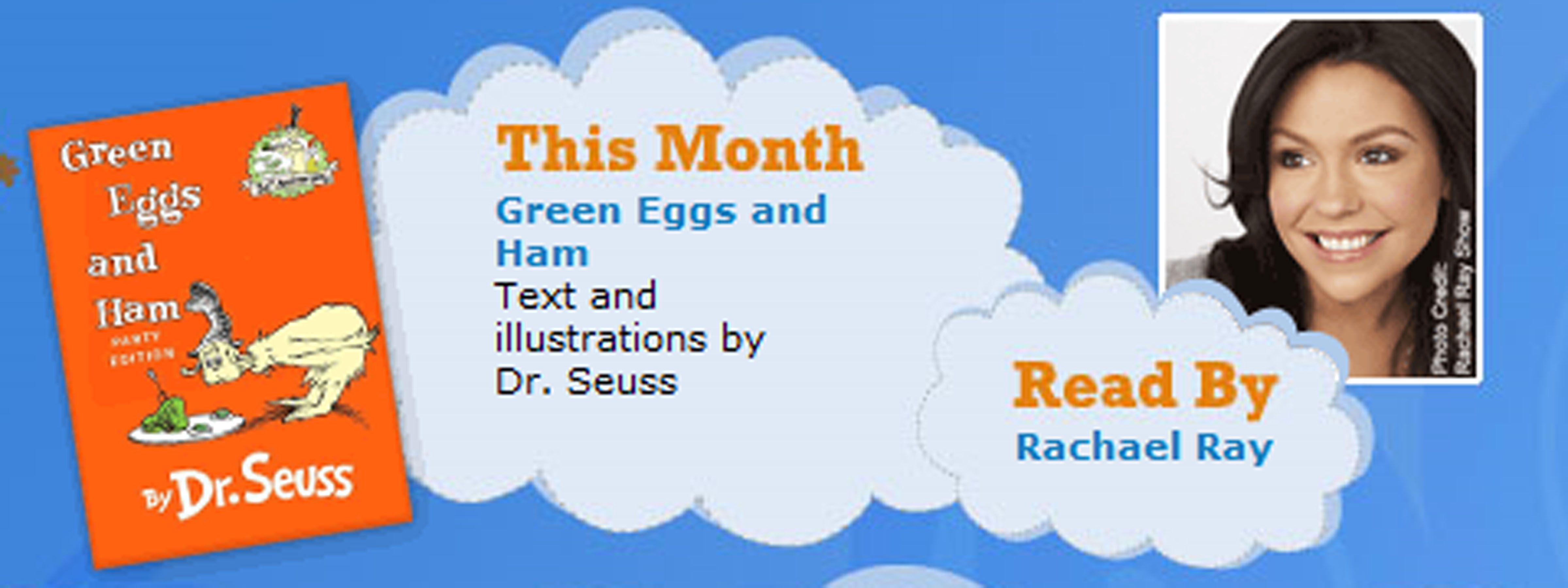 dr seuss green eggs and ham rachael ray