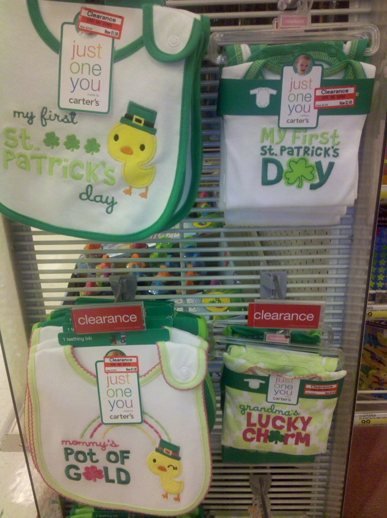 St. Patrick's Day Clearance at Target
