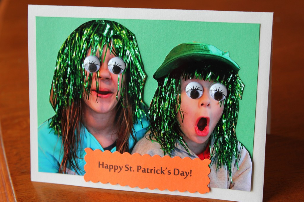 st. patrick's day photo cards
