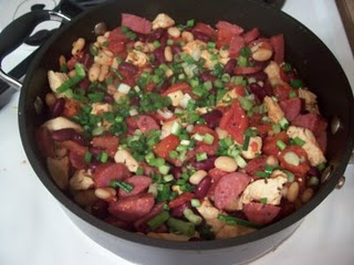 mardi gras dinner french cassoulet