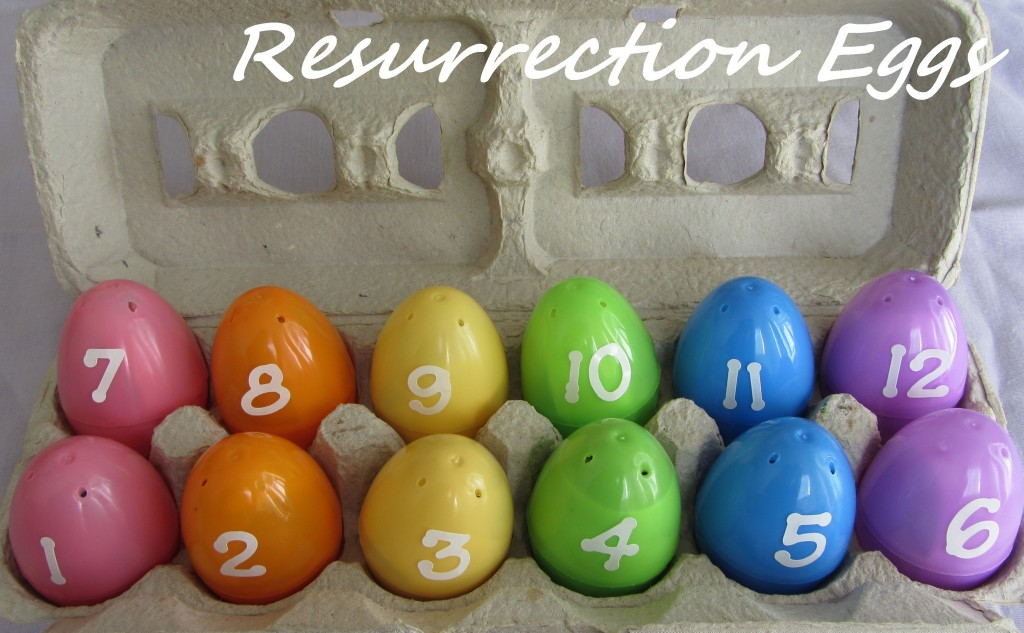 resurrection eggs easter activity