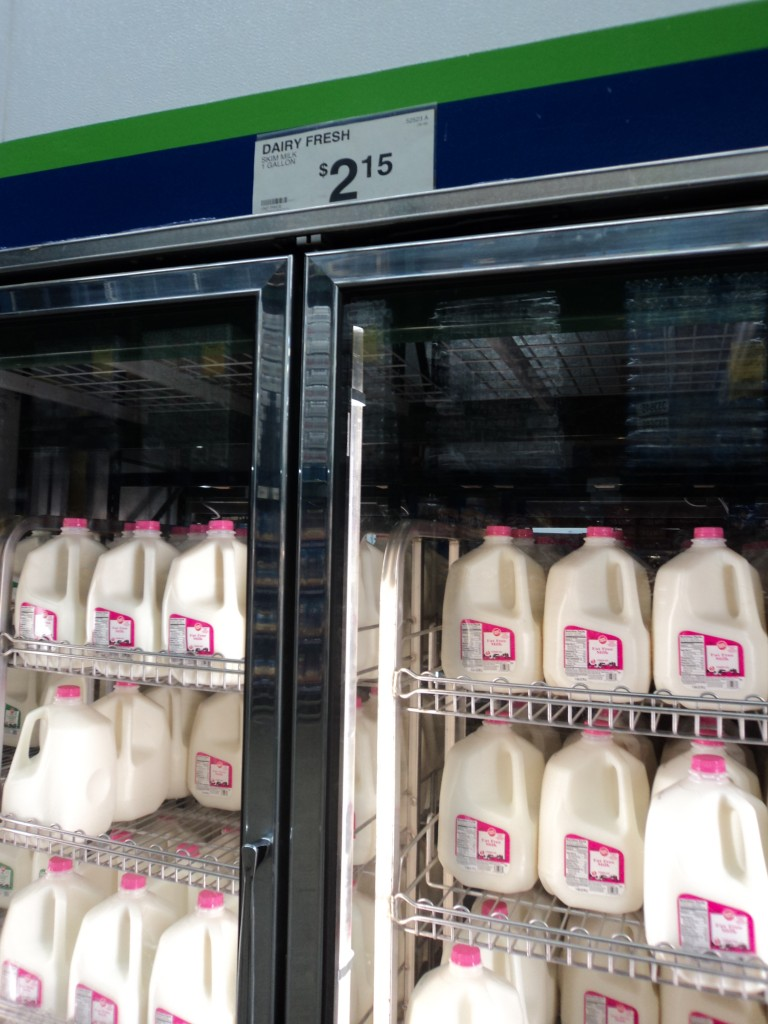sam's club milk price