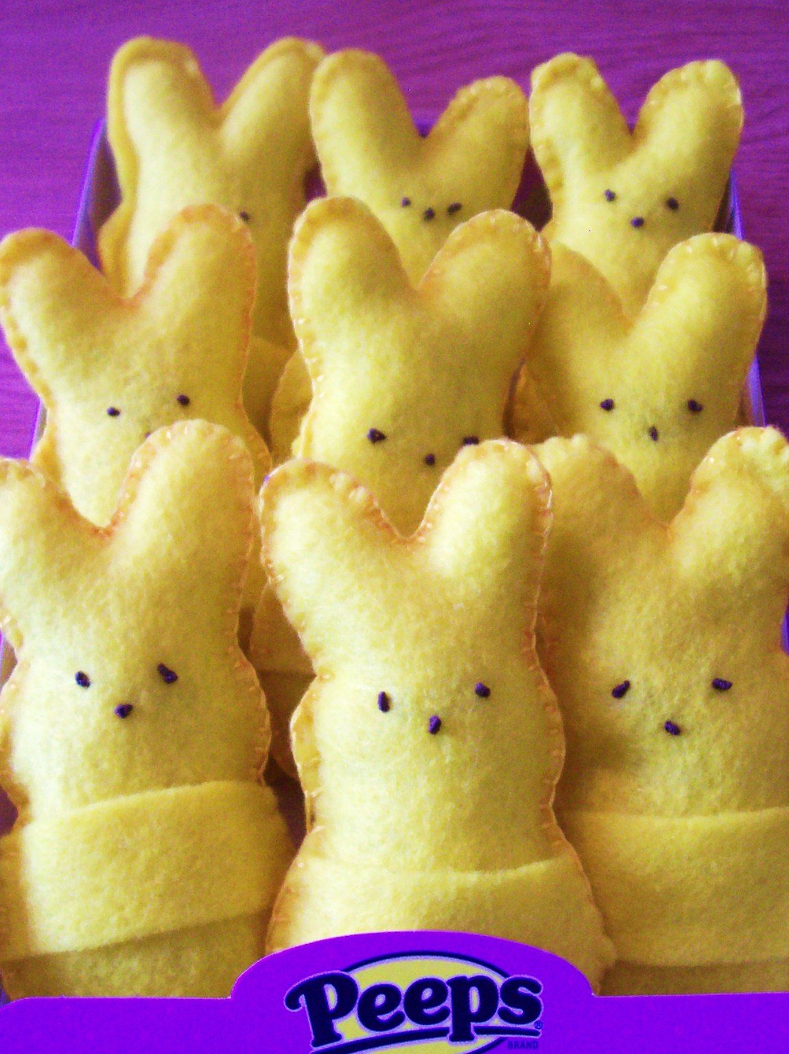 Felt Peeps Bunnies Easter Craft