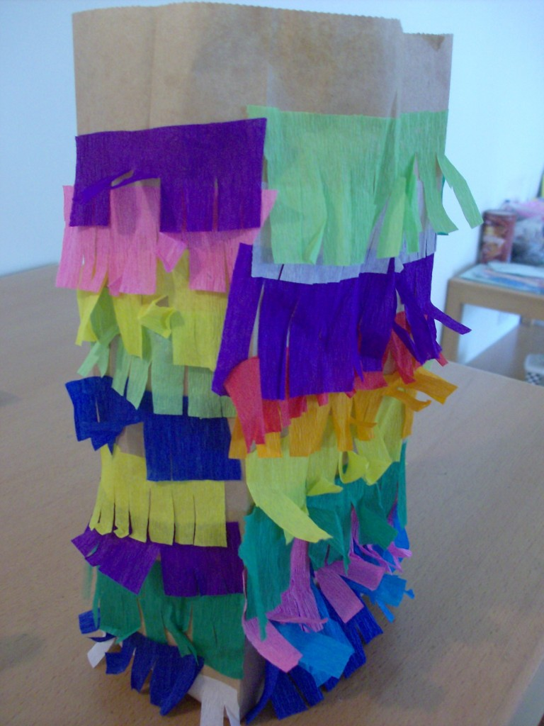 Cinco de Mayo Craft: Paper Bag Pinata