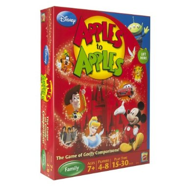 apples to apples disney version