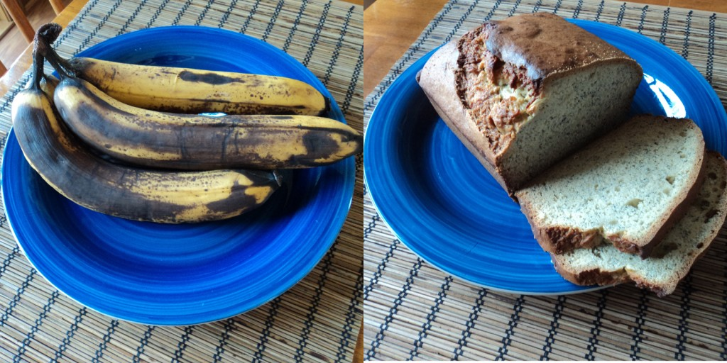 Easy Recipe for Banana Bread