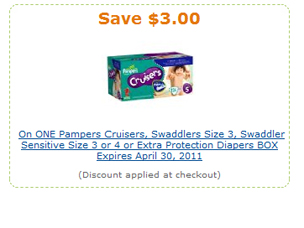pampers coupon