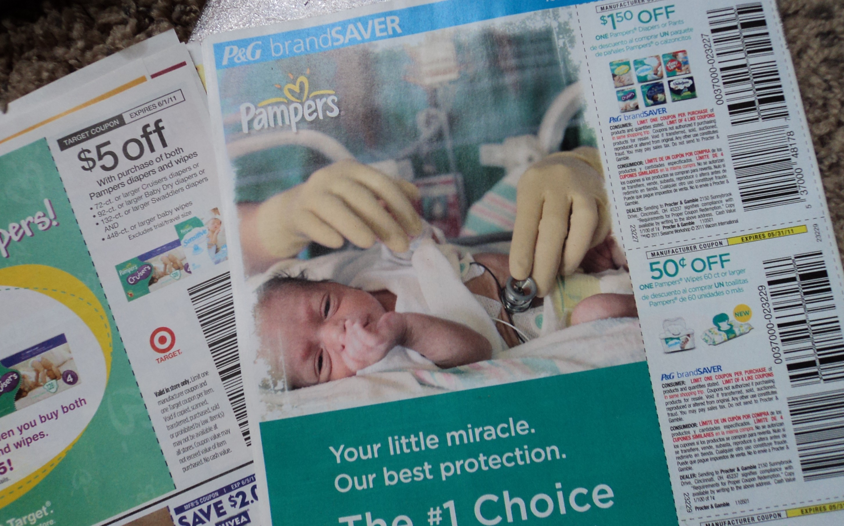 pampers coupons target diapers