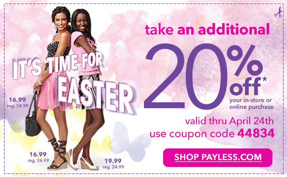Payless Shoe Coupons Printable