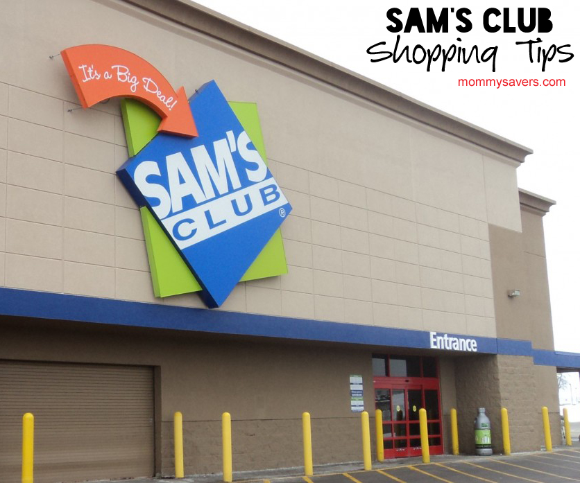 Sams Club Shopping Tips | Mommysavers.com #Frugal