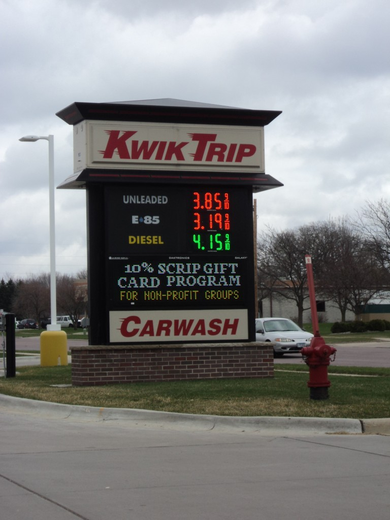 gas prices april 20