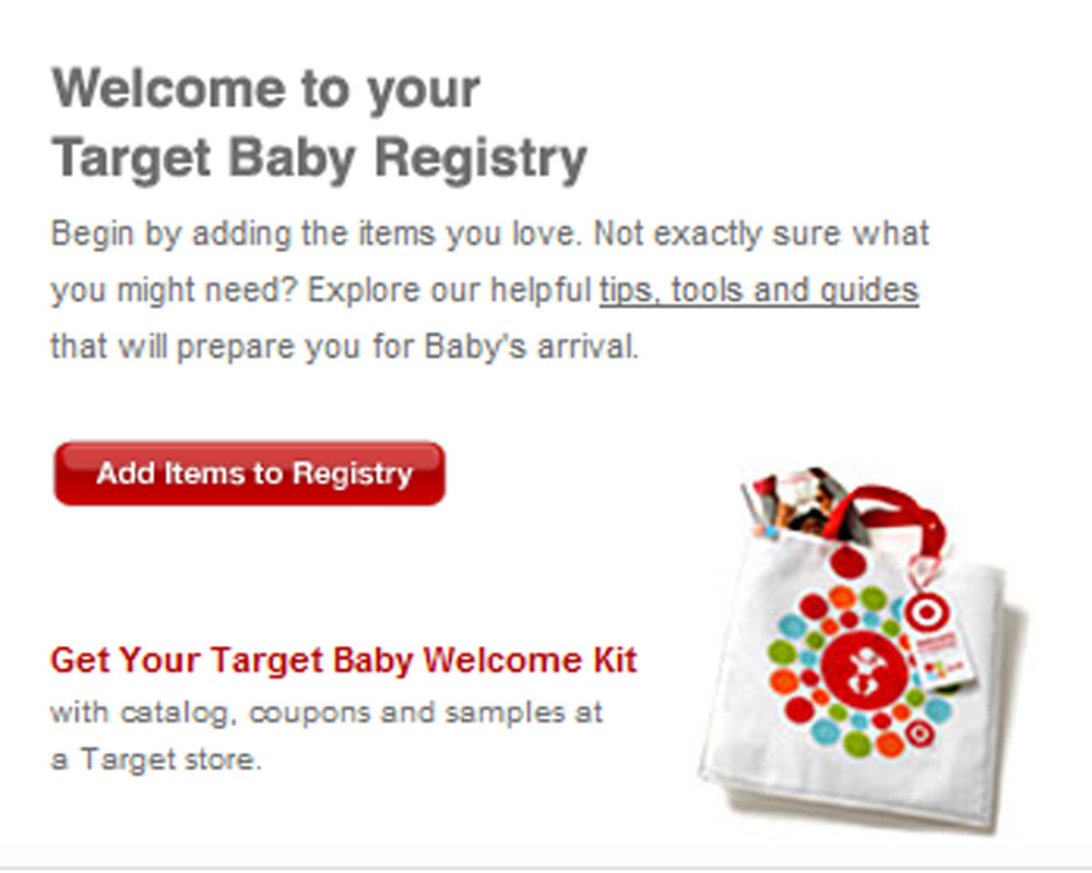 Nice Target Gift Registery Best Seller Gift Review Gift Bag Sample Target Com Baby  Registry Coupon Target