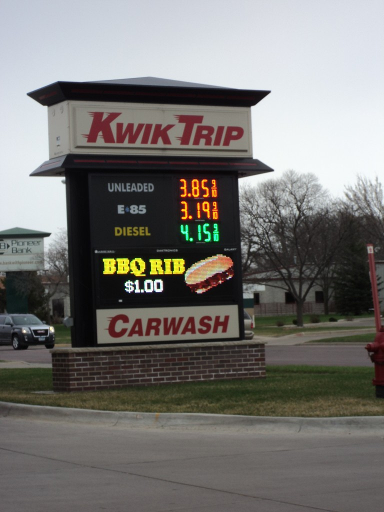 gas prices april 13