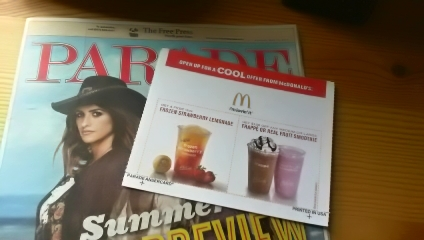 mcdonalds free frozen strawberry lemonade coupon