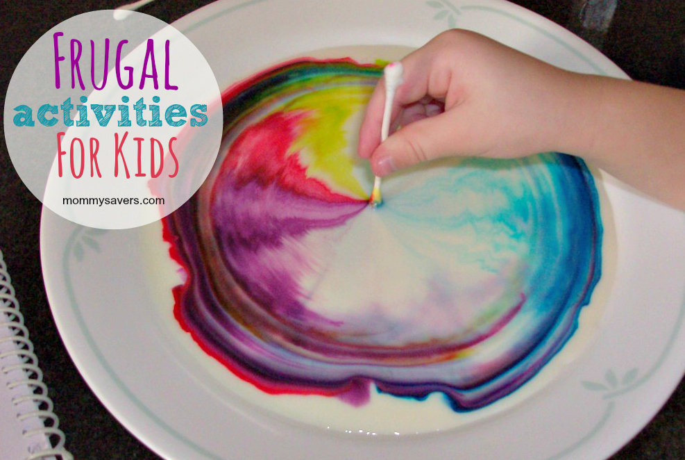 Fun Frugal Activities for Kids | Mommysavers.com