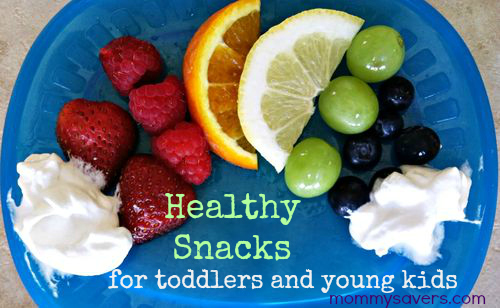 healthy snacks for toddlers and young children