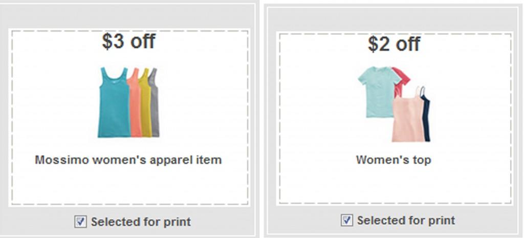 target coupons 10. target apparel coupons