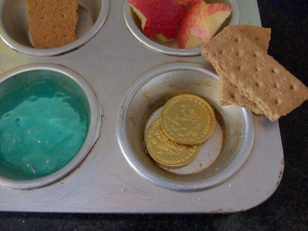 Beach Muffin Tin Meal