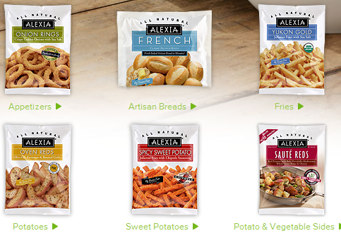 alexia frozen food coupon