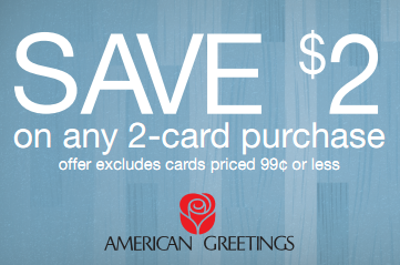 american greetings card coupon