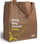 staples free reusable bag