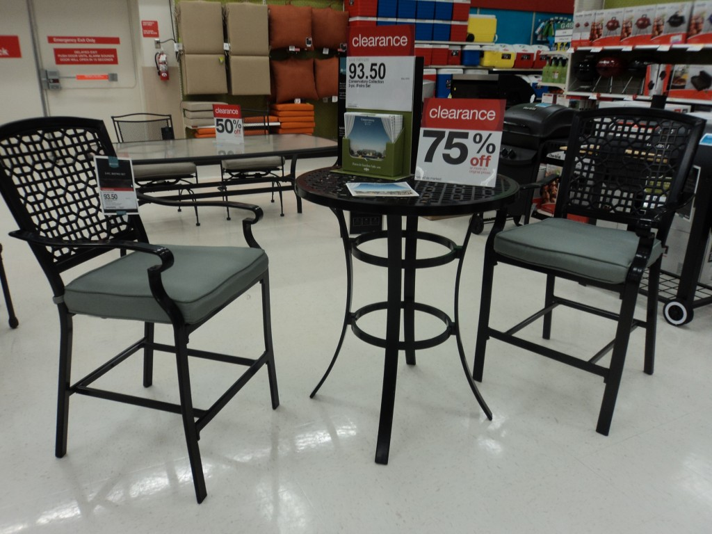 Patio Furniture Save 75% On Select Patio Sets At Target   Mommysavers.com |  Online