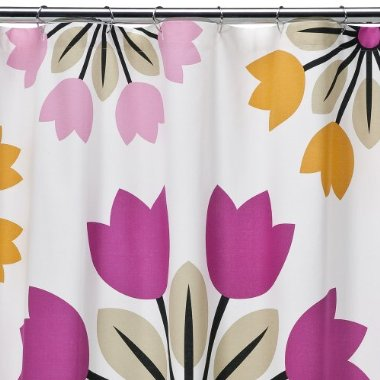 target daily deal shower curtain