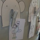 Back to School Craft: Elephant Fridge Clip