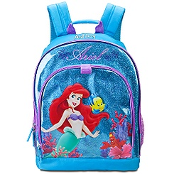 ariel backpack disney store free shipping