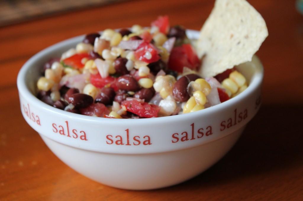 cowboy caviar black bean corn salsa