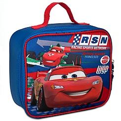 cars lunch tote disney store free shipping
