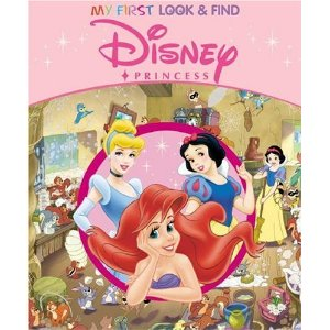 disney princess look and find book amazon