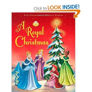 disney princess royal christmas book amazon