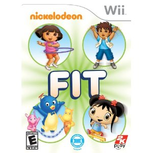 nickelodean wii game